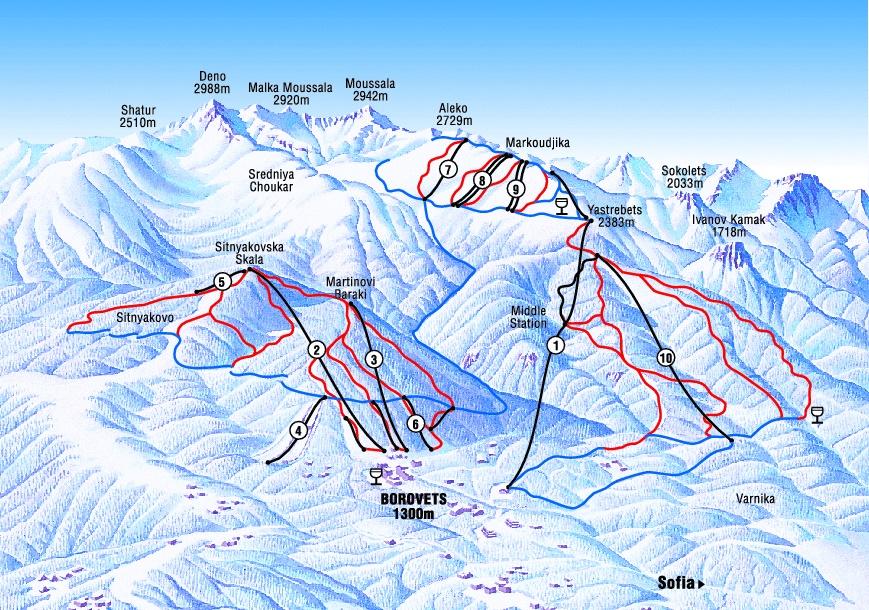 Borovets Kayak Turu Borovets Kayak Merkezi Otelleri Fiyatları
